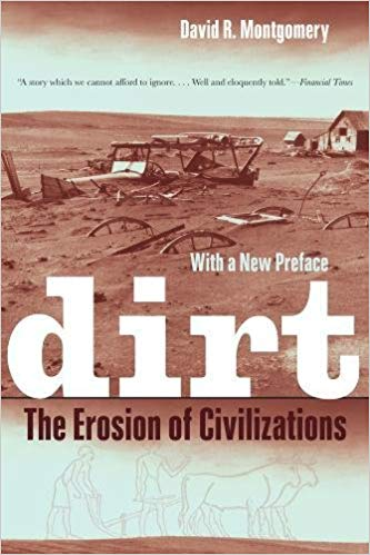 A great place to start to understand that the story of soil and its loss actually IS the underlying story of civilization - literally.